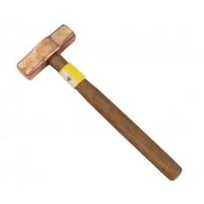 1LB Copper Hammer C/W 300mm Wooden Handle