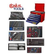 Genius NEW 227 Piece Mechanic Tool Kit