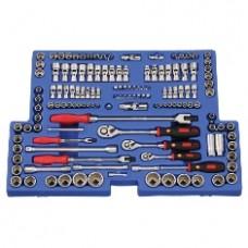 Genius 139 Pc 1/4', 3/8' and 1/2' Drive Metric & SAE Tool Kit